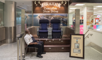 Abraham Executive Shoe Shine storefront image